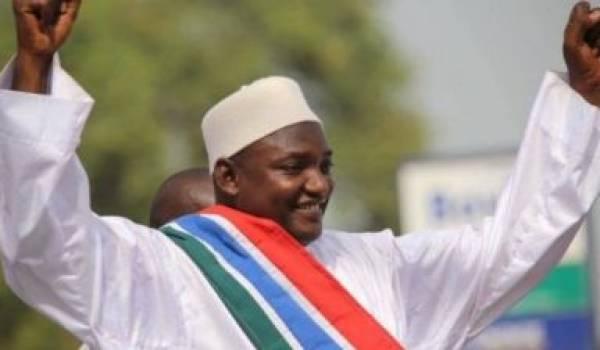 Adama Barrow, a remporté la présidentielle