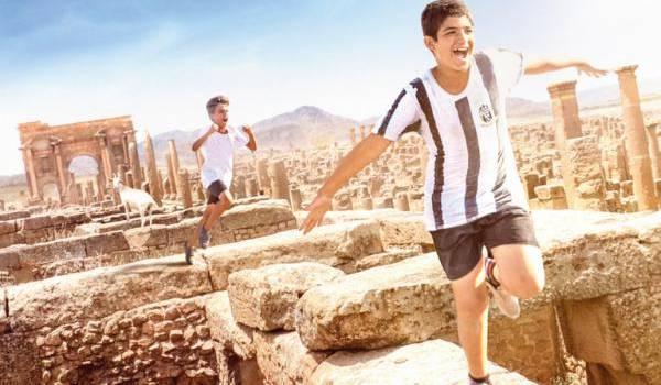"L'affiche du film ""Timgad""."