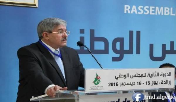 Ahmed Ouyahia.