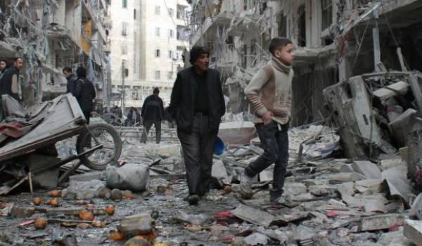 Alep en ruines