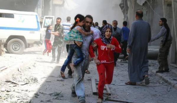 Alep : la lente agonie des miliers de civils