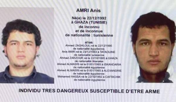 Anis Amri éliminé en Italie