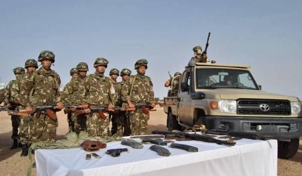 668 fusils automatiques de type kalachnikov ont été saisis par l'ANP