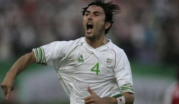 Antar Yahia, un défenseur au coeur bien accroché.