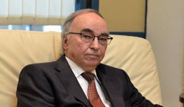 Le ministre des Finances, Hadji Baba Ammi,