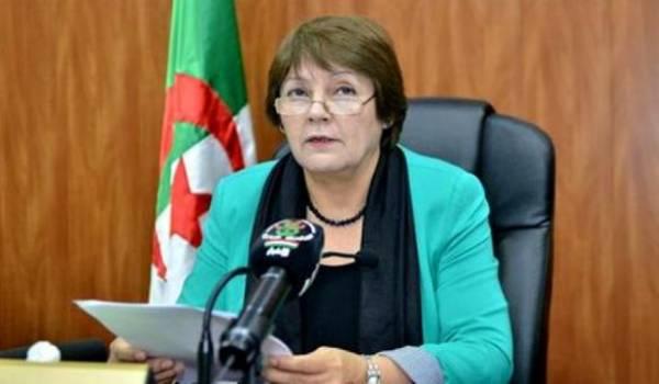 Nouria Benghebrit, ministre de l'Education.