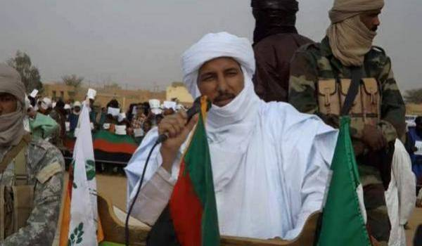 Bilal Ag Chérif, responsable de la Coordination des mouvements de l'Azawad