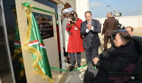 Abdelaziz Bouteflika a inauguré ce matin à l'inauguration. Photo APS