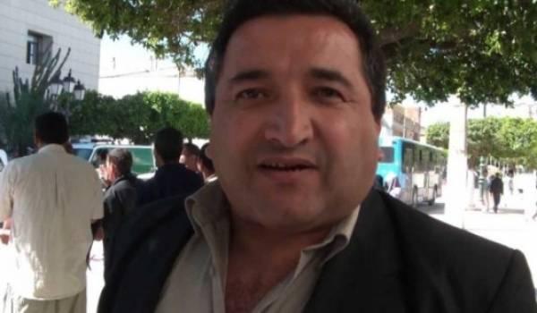 Hassan Bouras condamné pour avoir réalisé un reportage de télévision.
