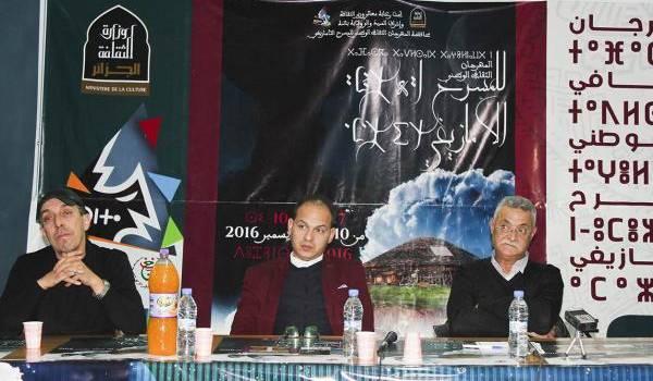 Conférence de presse tenue par les organisateurs.
