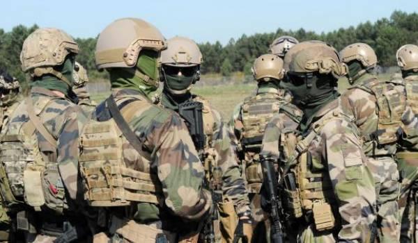 Les forces spéciales françaises. Photo AFP