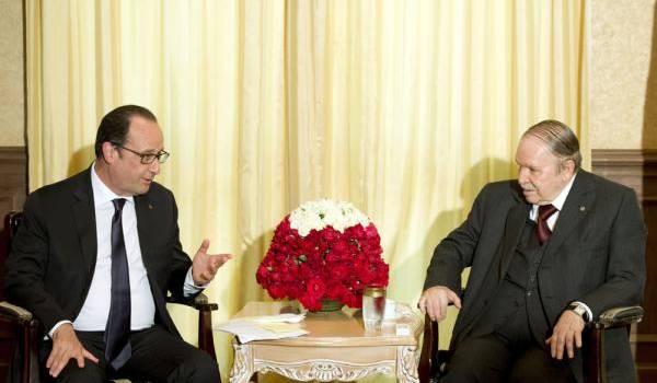 François Hollande vient de renoncer à se représenter à la présidentielle pendant que Bouteflika viole la consitution pour se maintenir : tout un monde sépare les deux.