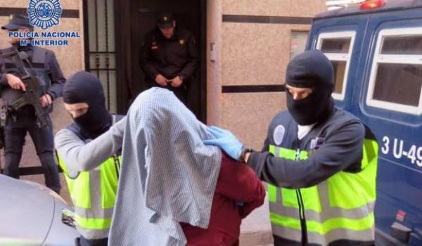 Deux jihadistes arrêtés en Espagne. Photo AFP