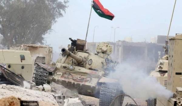 """""""Nos forces ont repris le contrôle total de Syrte"""", annonce un militaire du GNA. Photo AFP"""