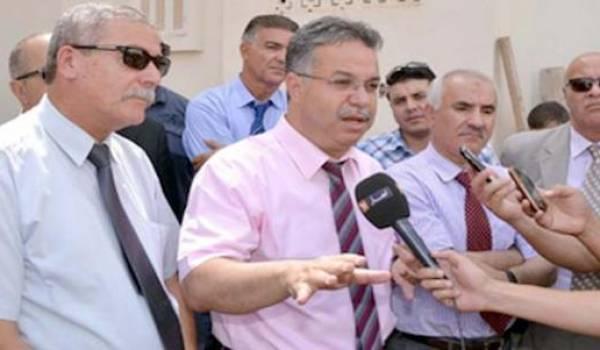Le wali de Mostaganem Abdelwahid Temmar.
