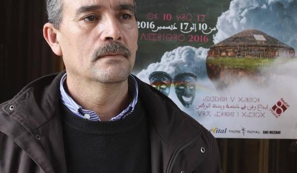 Djamel Nehali, chef de département de langue et culture amazighes de Batna