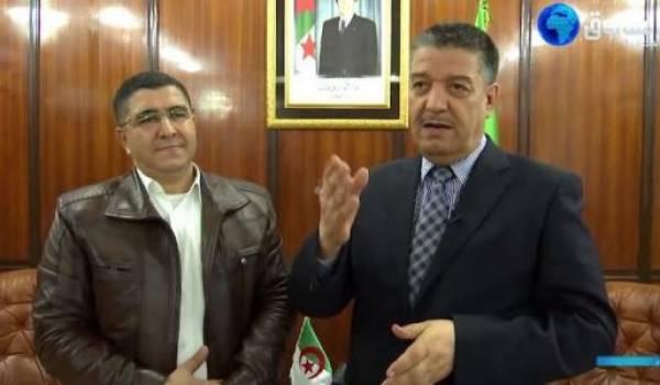 Boudiaf, le ministre de la Santé avec le pseudo-découvreur du médicament miracle Toufik Zaitete !!!