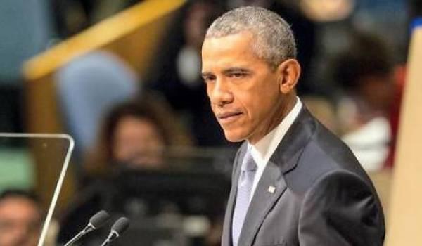 Le président américain prend des sanctions contre la Russie.