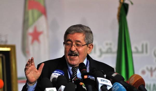 Ahmed Ouyahia, très flatteur envers le président.