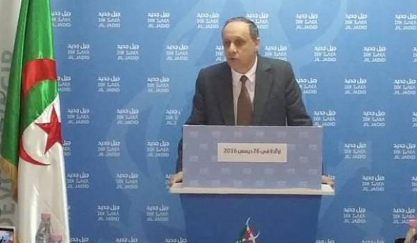 Soufiane Djilali, président de Jil Jadid