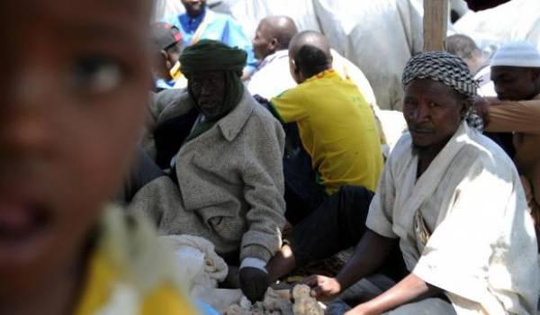 1400 réfugiés ont été arrêtés puis expulsés d'Algérie début décembre. Photo AFP