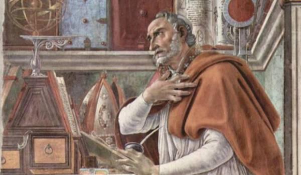 Saint Augustin.
