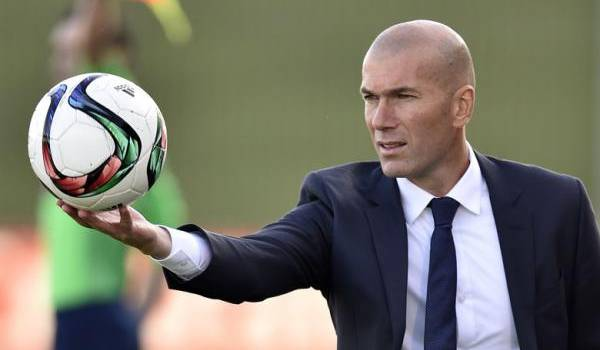 Zinedine Zidane. Photo AFP