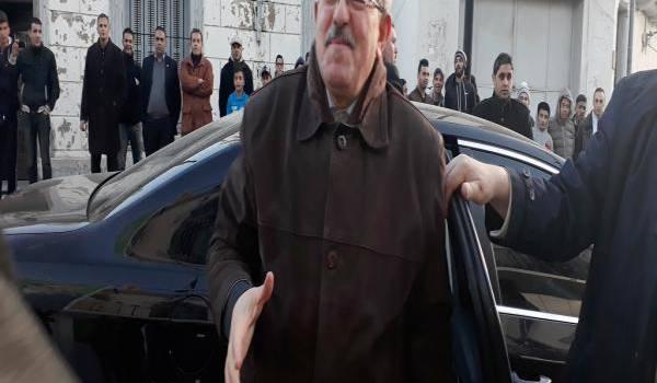 Ahmed Ouyahia à Tiaret