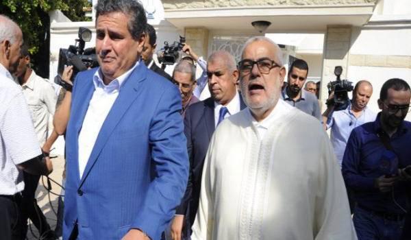 Différend politique entre Aziz Akhannouch et Benkirane.
