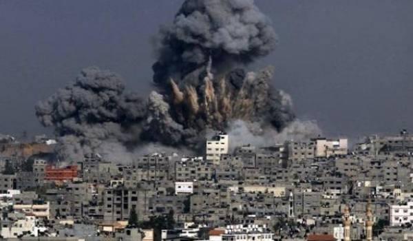 La Syrie sous les bombes.