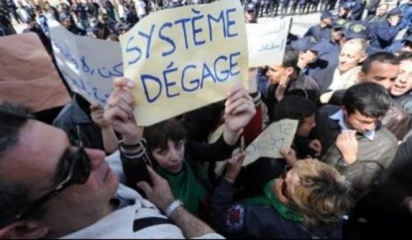 La colère de la rue exprime le rejet de tout un système autoritaire qui s'est même constitué une coterie politique.