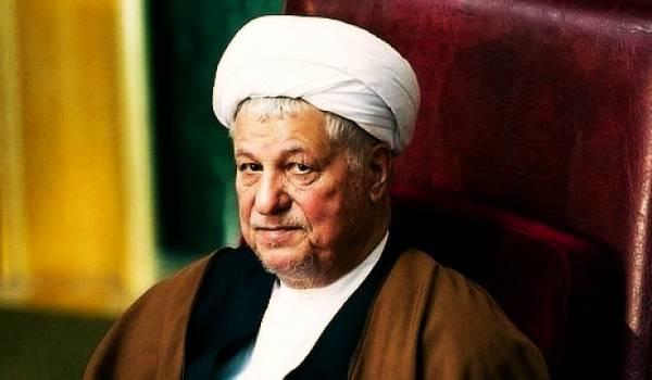 L'ex-président iranien Akbar Hachémi Rafsandjani