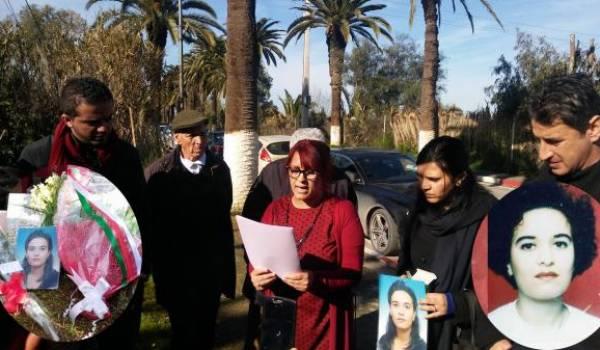 Amel Zanoune Zouani, pour s'adresser à nos consciences a emprunté la voix de sa sœur Anissa.