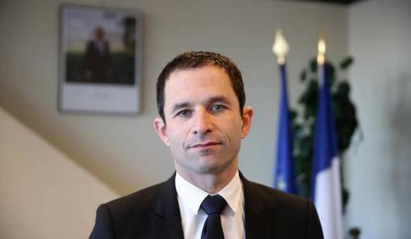 Benoît Hamon, la surprise du 1er tour de la primaire de gauche.