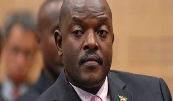 Pierre Nkurunziza, le président du Burundi.