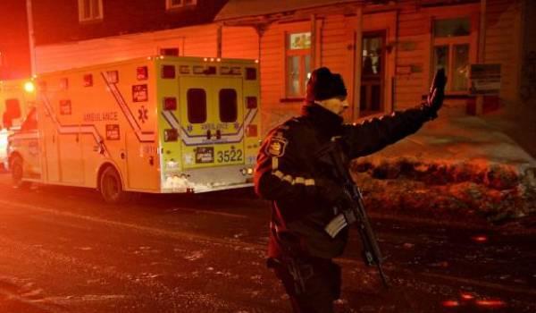Fusillade dans une mosquée de Québec : six morts