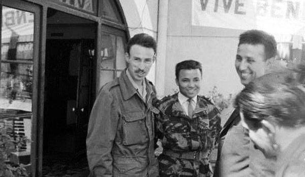 Boumediene, Chaabani, Ben Bella et Bouteflika en 1962.