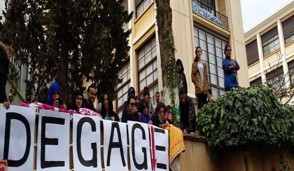 Les étudiantes dénoncent leurs insupportables conditions d'hébergement. Photo archives.