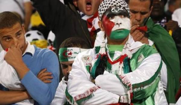 Des supporteurs algériens ont fait montre d'un comportement indigne.