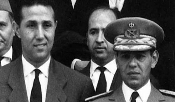 Ben Bella et Hassan II