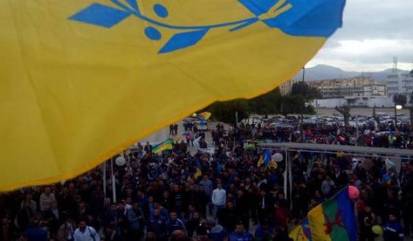 Le MAK draine d'importantes foules en Kabylie.