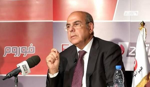 Mohamed Raouraoua, l'homme du fiasco du football algérien.
