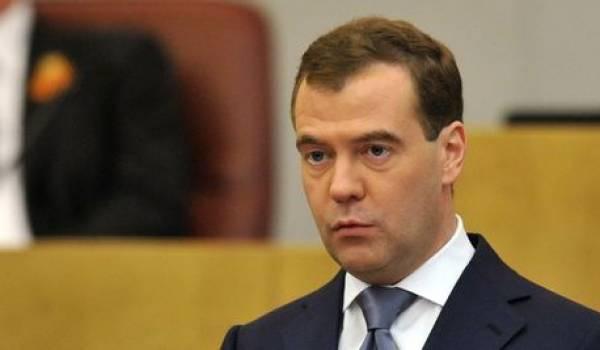 Dimitri Medvedev, premier ministre russe.