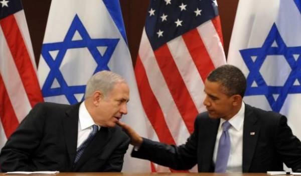 Netanyahu et Obama.
