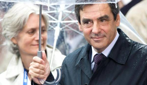 Penelope et François Fillon. Photo AFP