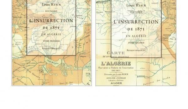 La couverture de l'un des derniers ouvrages sur l'Algérie.