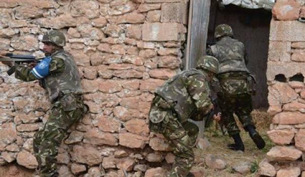Les soldats de l'ANP en opération.