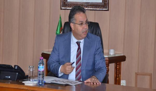 Abdelwahid Temmar, wali de la wilaya de Mostaganem.