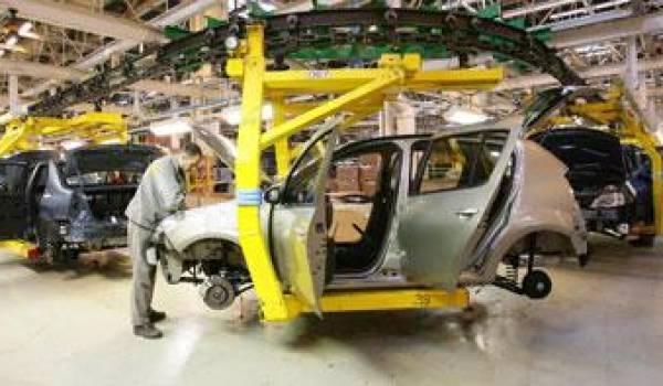 L'usine Renault est déjà lancée.