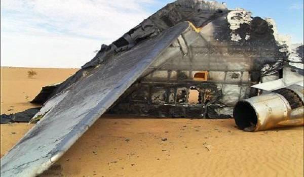 Le vol AH 5017 s'est abîmé au Burkina Faso.